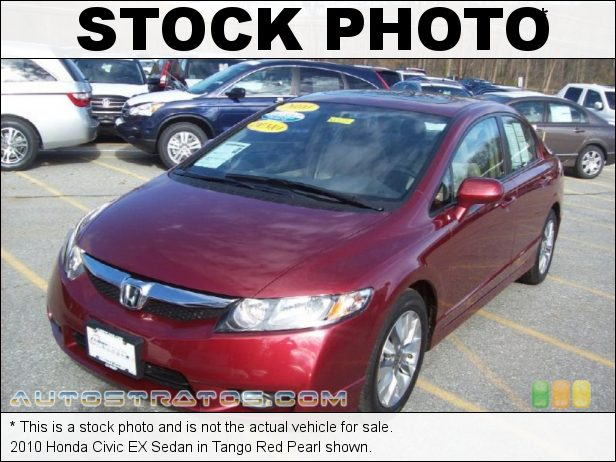 Stock photo for this 2010 Honda Civic EX Sedan 1.8 Liter SOHC 16-Valve i-VTEC 4 Cylinder 5 Speed Automatic