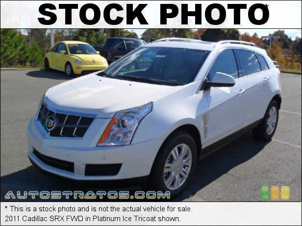 Stock photo for this 2011 Cadillac SRX FWD 3.0 Liter DI DOHC 24-Valve VVT V6 6 Speed DSC Automatic