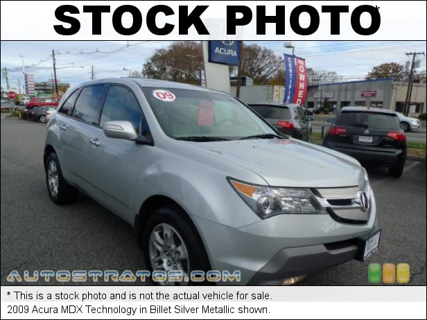 Stock photo for this 2009 Acura MDX Technology 3.7 Liter SOHC 24-Valve VTEC V6 5 Speed Sequential SportShift Automatic