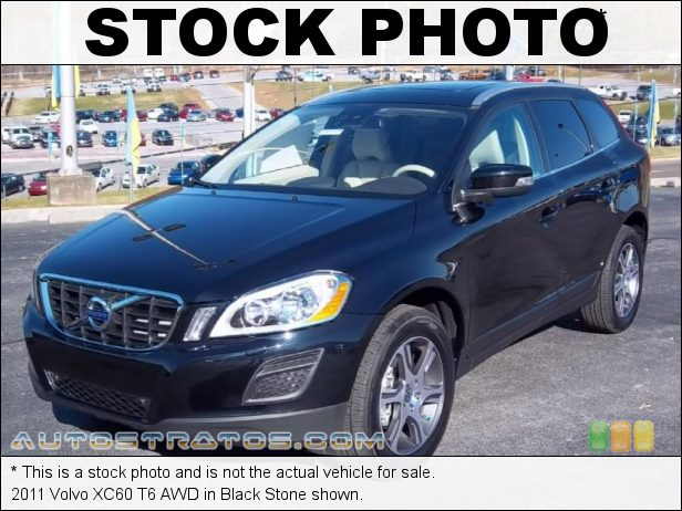 Stock photo for this 2011 Volvo XC60 T6 AWD 3.0 Liter Twin-Scroll Turbocharged DOHC 24-Valve Inline 6 Cylind 6 Speed Geartronic Automatic