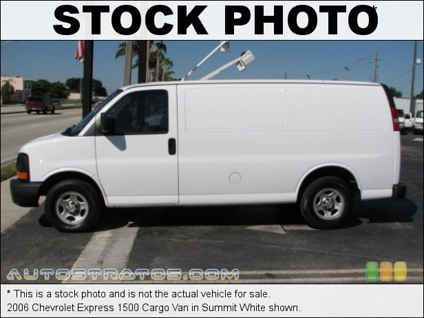 Stock photo for this 2006 Chevrolet Express 1500 Van 4.3 Liter OHV 12-Valve V6 4 Speed Automatic