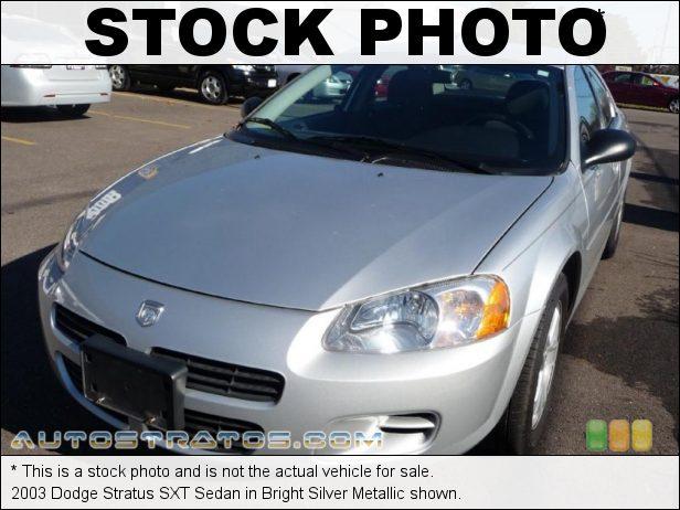 Stock photo for this 2003 Dodge Stratus SXT Sedan 2.4 Liter DOHC 16-Valve 4 Cylinder 4 Speed Automatic