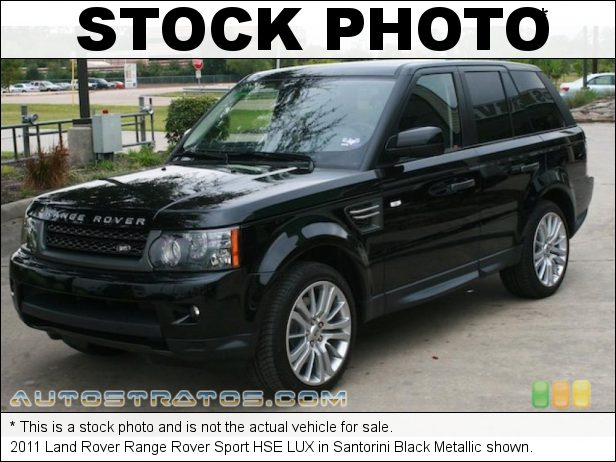 Stock photo for this 2011 Land Rover Range Rover Sport HSE LUX 5.0 Liter GDI DOHC 32-Valve DIVCT V8 6 Speed CommandShift Automatic