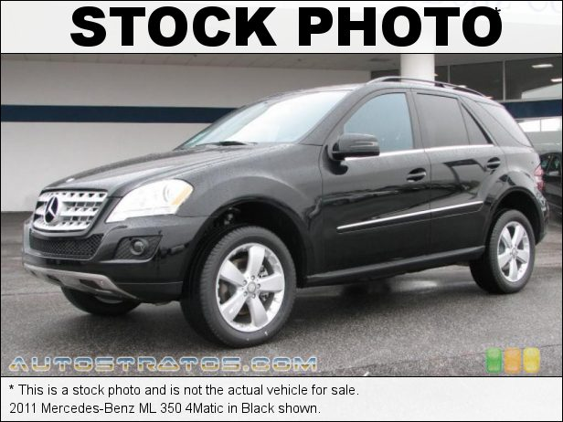 Stock photo for this 2011 Mercedes-Benz ML 350 4Matic 3.5 Liter DOHC 24-Valve VVT V6 7 Speed Automatic