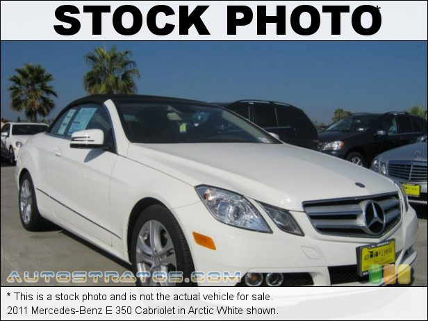 Stock photo for this 2011 Mercedes-Benz E 350 Cabriolet 3.5 Liter DOHC 24-Valve VVT V6 7 Speed Automatic