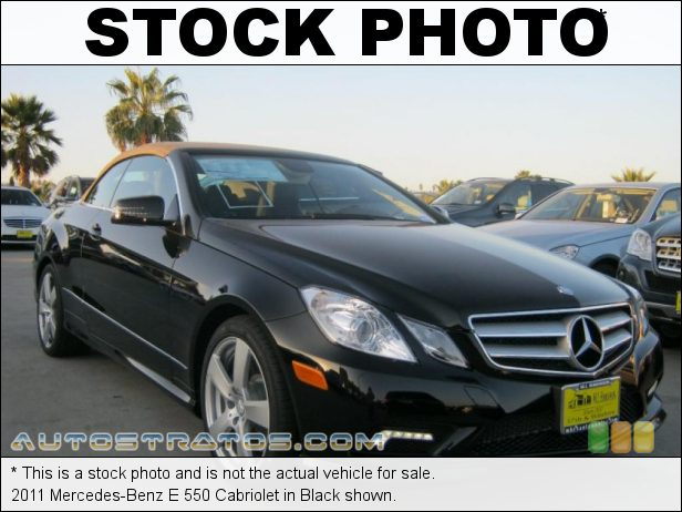 Stock photo for this 2011 Mercedes-Benz E 550 Cabriolet 5.5 Liter DOHC 32-Valve VVT V8 7 Speed Automatic