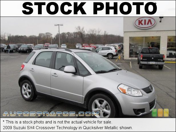 Stock photo for this 2009 Suzuki SX4 Crossover Technology 2.0 Liter DOHC 16-Valve 4 Cylinder 5 Speed Manual