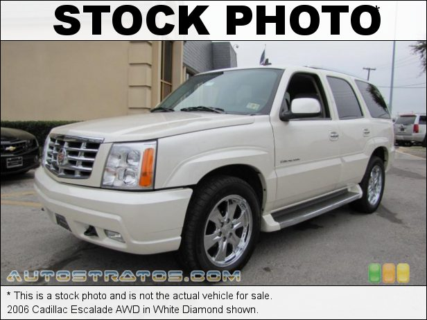 Stock photo for this 2006 Cadillac Escalade AWD 6.0 Liter OHV 16-Valve Vortec V8 4 Speed Automatic