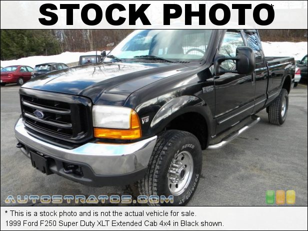 Stock photo for this 1999 Ford F250 Super Duty XLT Extended Cab 4x4 7.3 Liter OHV 16-Valve Power Stroke Turbo diesel V8 5 Speed Manual