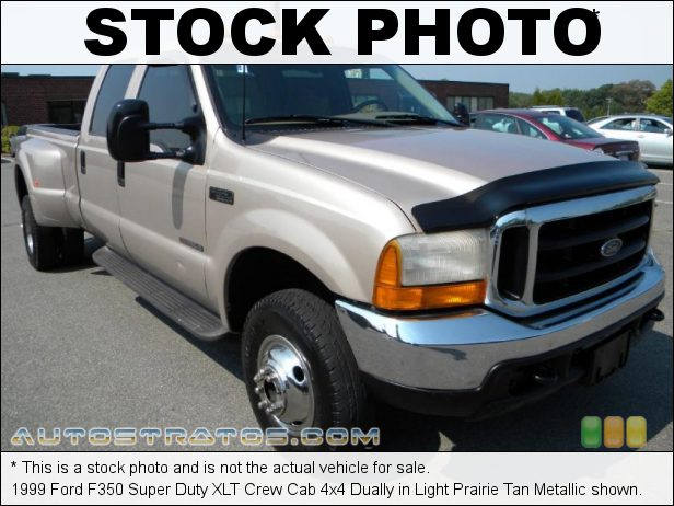 Stock photo for this 1999 Ford F350 Super Duty Crew Cab 4x4 Dually 7.3 Liter OHV 16-Valve Power Stroke Turbo-Diesel V8 4 Speed Automatic