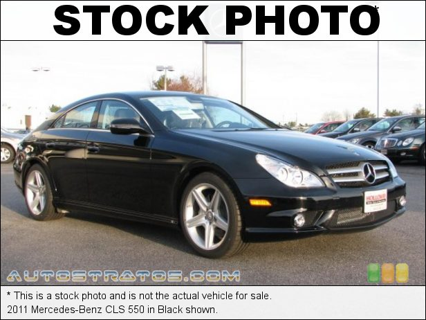 Stock photo for this 2011 Mercedes-Benz CLS 550 5.5 iter DOHC 32-Valve VVT V8 7 Speed Automatic