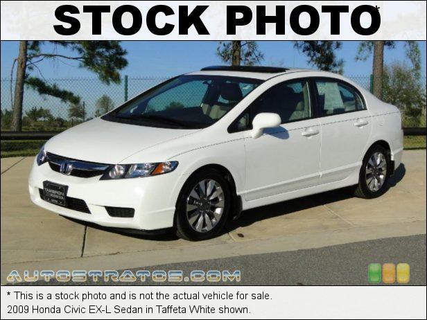 Stock photo for this 2009 Honda Civic EX-L Sedan 1.8 Liter SOHC 16-Valve i-VTEC 4 Cylinder 5 Speed Automatic