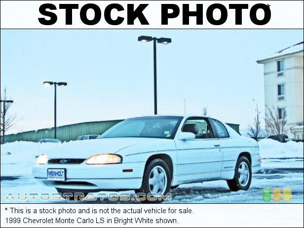 Stock photo for this 1999 Chevrolet Monte Carlo LS 3.1 Liter OHV 12-Valve V6 4 Speed Automatic