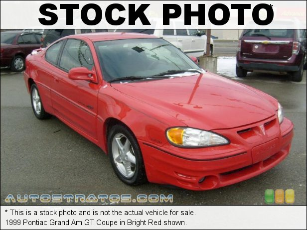 Stock photo for this 1999 Pontiac Grand Am GT Coupe 3.4 Liter OHV 12-Valve V6 4 Speed Automatic
