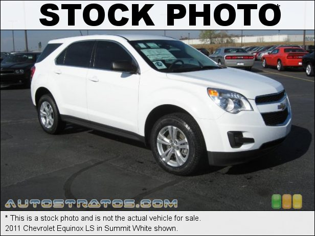Stock photo for this 2011 Chevrolet Equinox LS 2.4 Liter DI DOHC 16-Valve VVT Ecotec 4 Cylinder 6 Speed Automatic