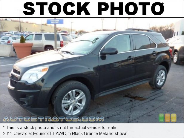 Stock photo for this 2011 Chevrolet Equinox LT AWD 2.4 Liter DI DOHC 16-Valve VVT Ecotec 4 Cylinder 6 Speed Automatic