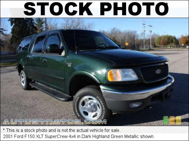Stock photo for this 2001 Ford F150 XLT SuperCrew 4x4 5.4 Liter SOHC 16-Valve Triton V8 4 Speed Automatic