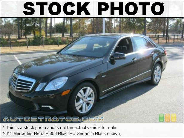 Stock photo for this 2011 Mercedes-Benz E 350 BlueTEC Sedan 3.0 Liter Bluetec Turbo-Diesel DOHC 24-Valve VVT V6 7 Speed Automatic