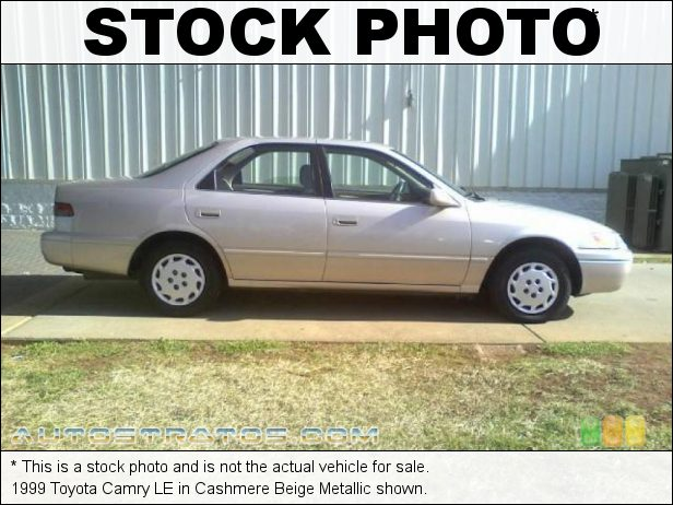 Stock photo for this 1999 Toyota Camry LE 2.2 Liter DOHC 16-Valve 4 Cylinder 4 Speed Automatic