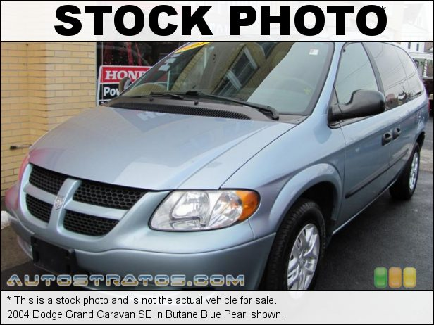 Stock photo for this 2004 Dodge Grand Caravan SE 3.3 Liter OHV 12-Valve V6 4 Speed Automatic