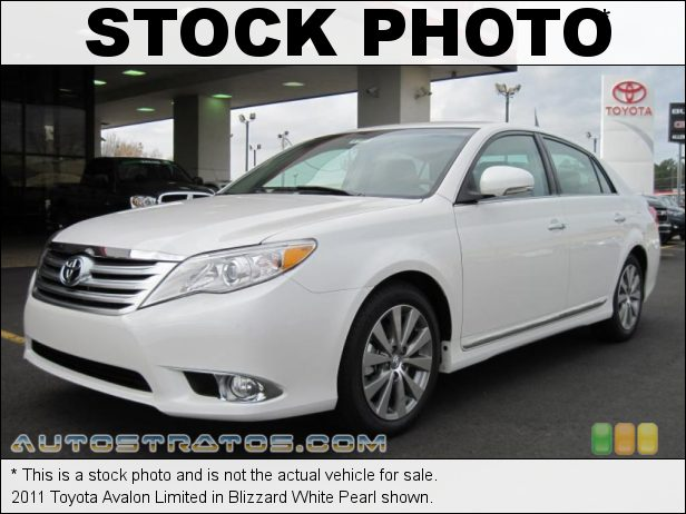 Stock photo for this 2011 Toyota Avalon Limited 3.5 Liter DOHC 24-Valve Dual VVT-i V6 6 Speed ECT-i Automatic