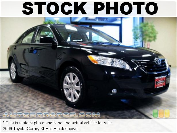 Stock photo for this 2009 Toyota Camry XLE 2.4 Liter DOHC 16-Valve VVT-i 4 Cylinder 5 Speed Automatic