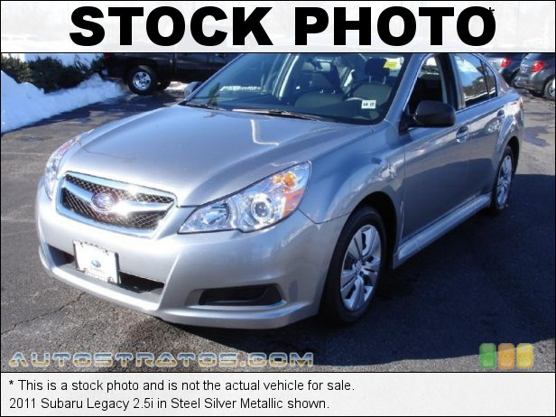Stock photo for this 2011 Subaru Legacy 2.5i 2.5 Liter SOHC 16-Valve VVT Flat 4 Cylinder Lineartronic CVT Automatic