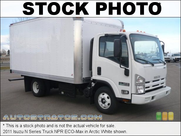 Stock photo for this 2011 Isuzu N Series Truck NPR ECO-Max 5.2 Liter OHC 16-Valve Isuzu Turbo-Diesel 4 Cylinder 6 Speed Automatic