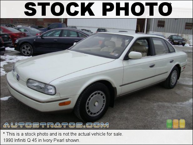 Stock photo for this 1990 Infiniti Q 45 4.5 Liter DOHC 32-Valve V8 4 Speed Automatic