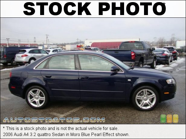 Stock photo for this 2007 Audi A4 3.2 quattro Sedan 3.2 Liter DOHC 24-Valve VVT V6 6 Speed Tiptronic Automatic