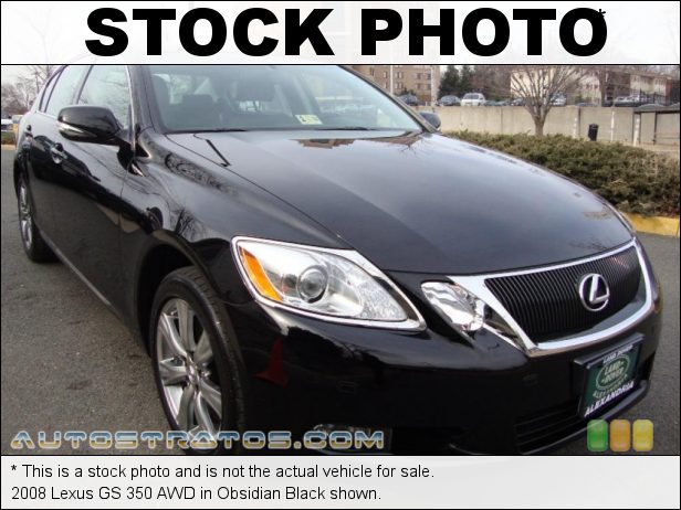 Stock photo for this 2008 Lexus GS 350 AWD 3.5 Liter DOHC 24-Valve VVT-i V6 6 Speed Sequential-Shift Automatic