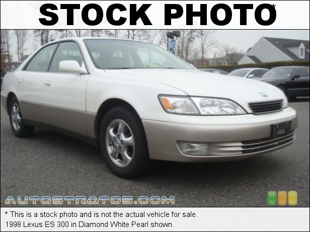 Stock photo for this 1998 Lexus ES 300 3.0 Liter DOHC 24-Valve V6 4 Speed Automatic