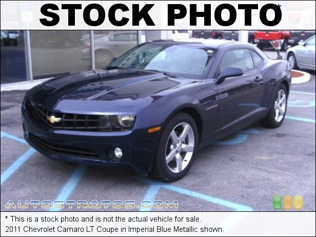 Stock photo for this 2011 Chevrolet Camaro Coupe 3.6 Liter SIDI DOHC 24-Valve VVT V6 6 Speed TAPshift Automatic