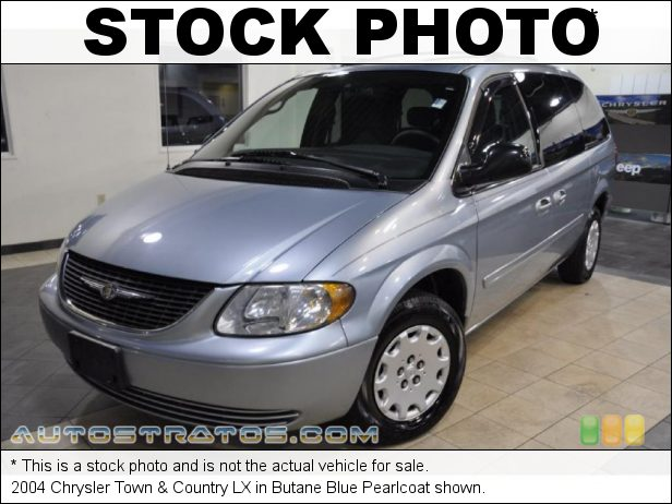 Stock photo for this 2004 Chrysler Town & Country LX 3.3 Liter OHV 12-Valve V6 4 Speed Automatic