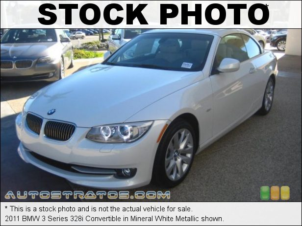 Stock photo for this 2011 BMW 3 Series 328i Convertible 3.0 Liter DOHC 24-Valve VVT Inline 6 Cylinder 6 Speed Steptronic Automatic