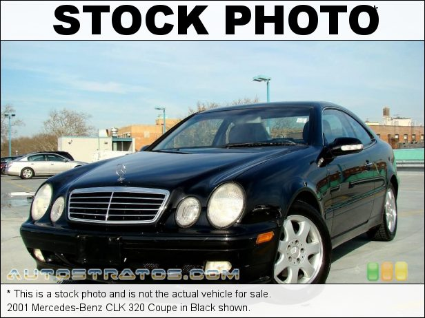 Stock photo for this 2001 Mercedes-Benz CLK 320 Coupe 3.2 Liter SOHC 18-Valve V6 5 Speed Automatic