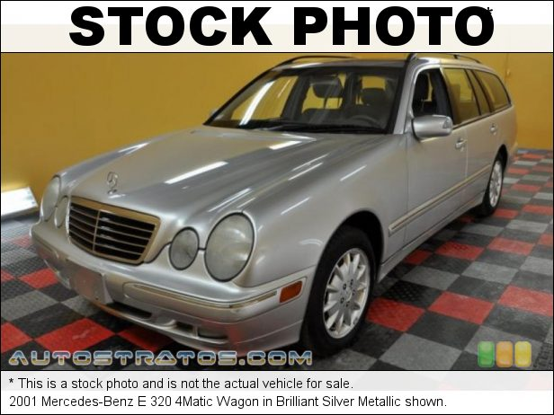 Stock photo for this 2001 Mercedes-Benz E 320 4Matic Wagon 3.2 Liter SOHC 18-Valve V6 5 Speed Automatic