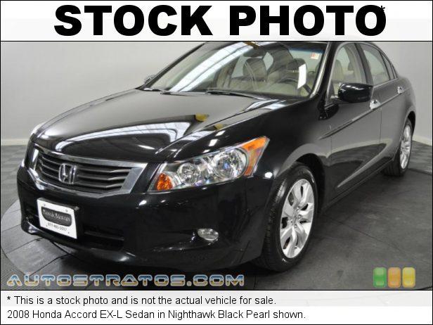 Stock photo for this 2008 Honda Accord EX-L Sedan 2.4 Liter DOHC 16-Valve i-VTEC 4 Cylinder 5 Speed Automatic