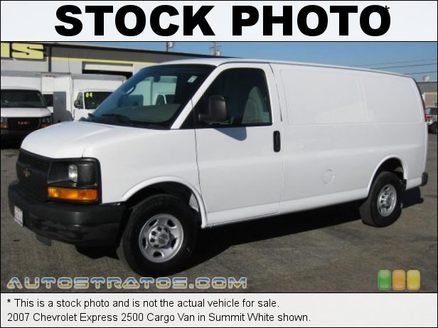 Stock photo for this 2007 Chevrolet Express 2500 Van 4.8 Liter OHV 16-Valve V8 4 Speed Automatic