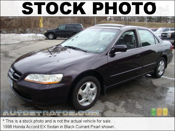 Stock photo for this 1998 Honda Accord EX Sedan 2.3 Liter SOHC 16-Valve VTEC 4 Cylinder 4 Speed Automatic