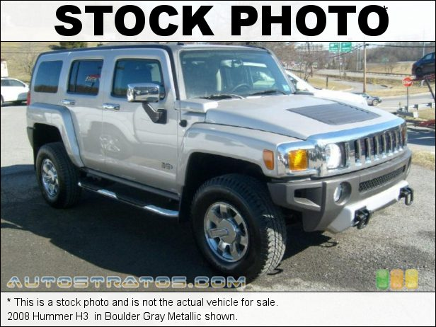 Stock photo for this 2008 Hummer H3  3.7 Liter DOHC 20V Vortec Inline 5 Cylinder 4 Speed Automatic