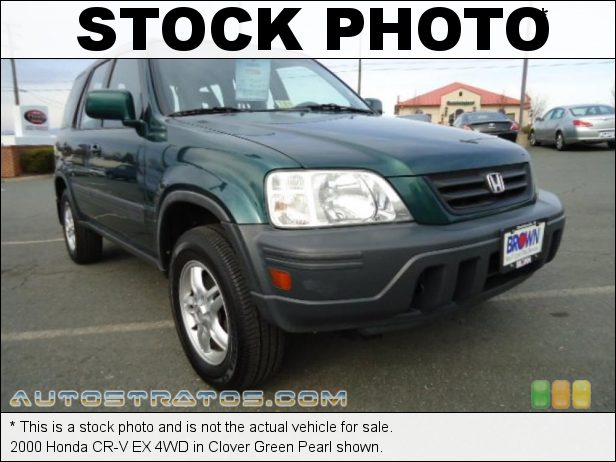 Stock photo for this 1998 Honda CR-V EX 4WD 2.0 Liter DOHC 16-Valve 4 Cylinder 5 Speed Manual
