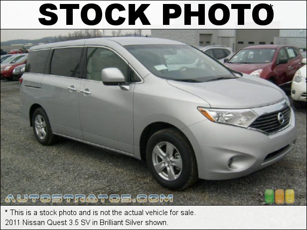 Stock photo for this 2011 Nissan Quest 3.5 3.5 Liter DOHC 24-Valve CVTCS V6 Xtronic CVT Automatic