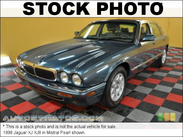 Stock photo for this 1998 Jaguar XJ XJ8 4.0 Liter DOHC 32-Valve V8 5 Speed Automatic
