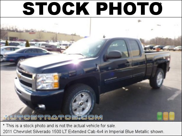 Stock photo for this 2011 Chevrolet Silverado 1500 LT Extended Cab 4x4 5.3 Liter Flex-Fuel OHV 16-Valve VVT Vortec V8 6 Speed Automatic