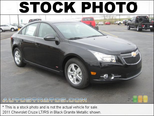 Stock photo for this 2011 Chevrolet Cruze  1.4 Liter Turbocharged DOHC 16-Valve VVT ECOTEC 4 Cylinder 6 Speed Automatic