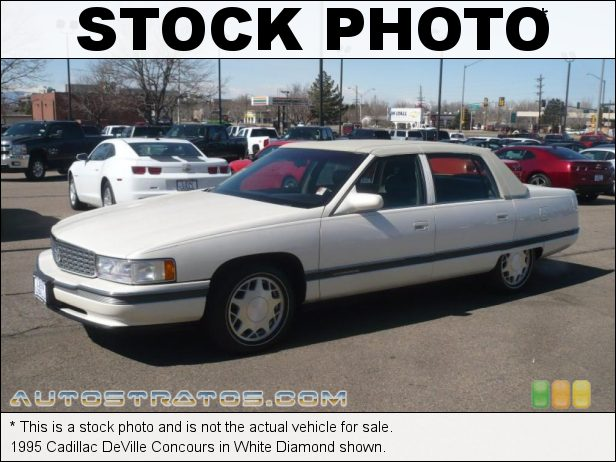 Stock photo for this 1994 Cadillac Deville Concours 4.6 Liter DOHC 32 Valve V8 4 Speed Automatic