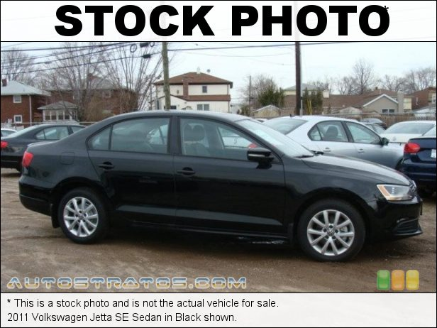 Stock photo for this 2011 Volkswagen Jetta SE Sedan 2.5 Liter DOHC 20-Valve 5 Cylinder 6 Speed Tiptronic Automatic