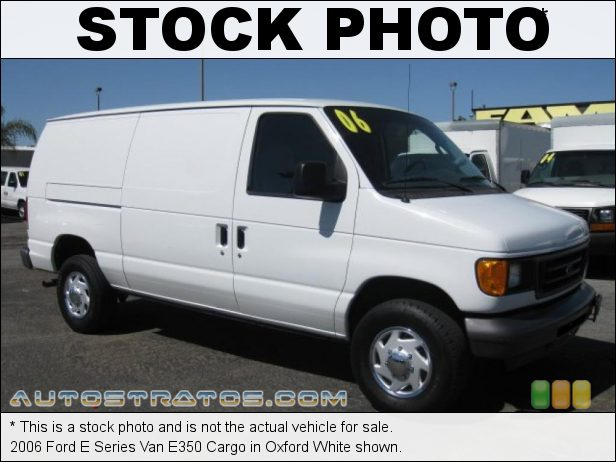 Stock photo for this 2000 Ford E Series Van E350 Cargo 6.8 Liter SOHC 20-Valve Triton V10 4 Speed Automatic
