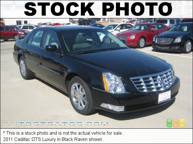 Stock photo for this 2011 Cadillac DTS Luxury 4.6 Liter DOHC 32-Valve Northstar V8 4 Speed Automatic